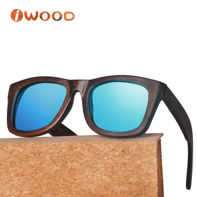 wa78 painted pyrus betulaefolia wood frame sunglass style polarized wooden sunglasses men sunglasses women - Wooden Frame Sunglasses
