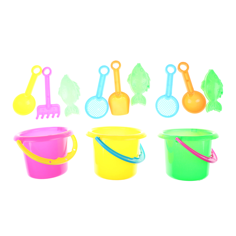 4pcs/set Beach Toys For Kids Sand Water Summer Children Beach Toy Sandbeach Kids Beach Castle Bucket Spade Shovel Rake Water