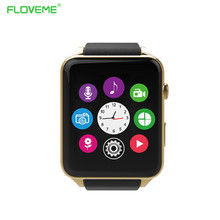 FLOVEME E1 Smart Uhr Für Apple iPhone IOS & Android Bluetooth SmartWatch Für Handy Inteligente Elektronik gerät 2016 Neue