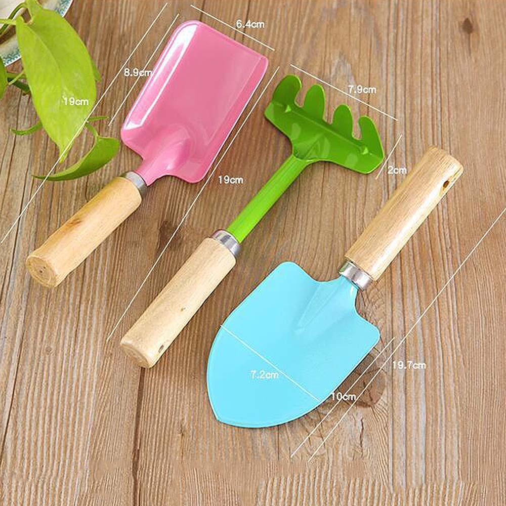 MrY 3Pcs Sand Beach Shovel Toys Children Colored Plastic Shovel Model For Kids Outdoor Fun Beach Tool Demountable Toy