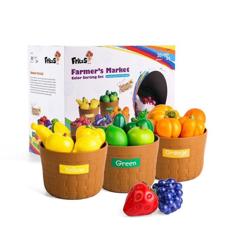 Домашняя игрушка, детский сад, растительный фрукт, модель, моделирование, детское питание, познавательное, раннее образование, головоломка, пластиковые игрушки - 6