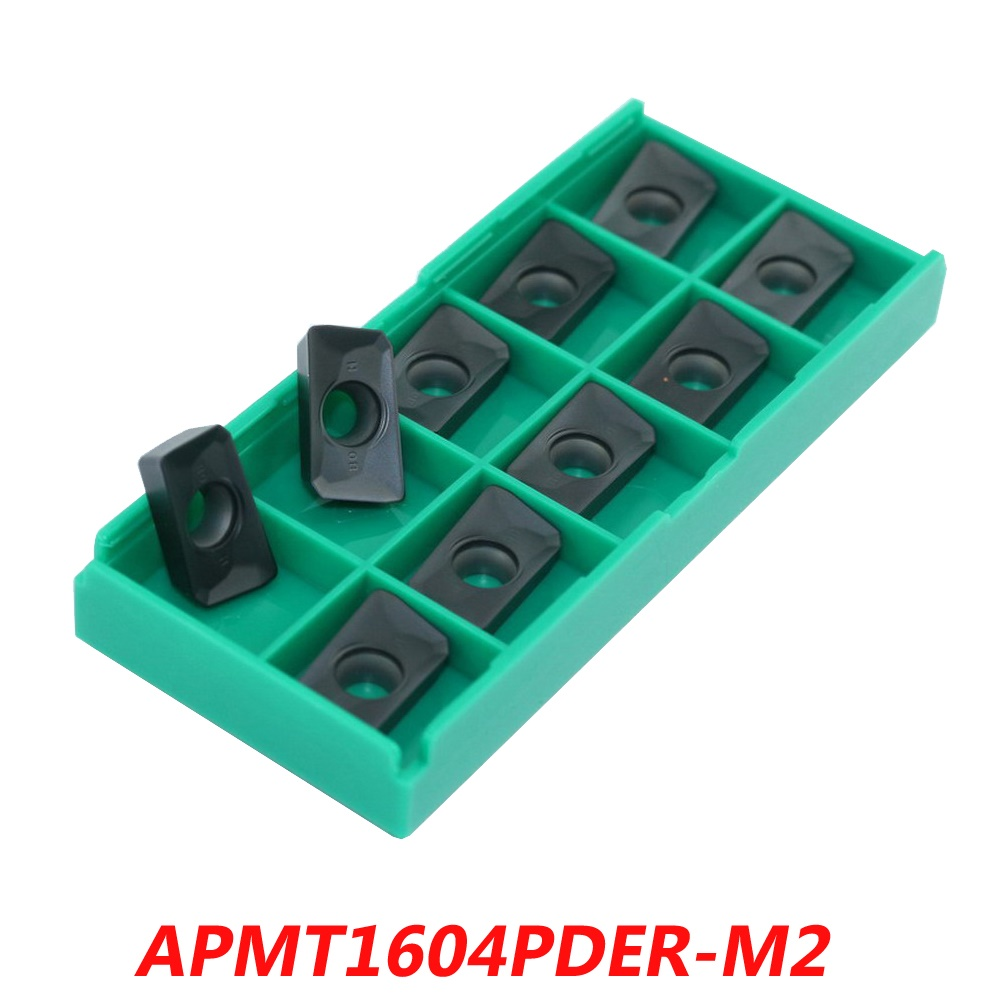 Free shipping Carbide Inserts APMT1604PDER-M2 R0.8 For Face Milling Cutter 400R series Tools Suitable NC/CNC Machine электромеханическая швейная машина vlk napoli 2100