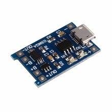 De Carregamento Bordo plus Proteção 5 V 1A Micro USB DA Bateria Li-ion Carregador de