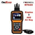 2017 Новый Подушка Безопасности ABS Диагностический Сканер FOXWELL NT630 OBD OBD2 ABS SRS Диагностический Инструмент Данные по Аварии Сброс Инструмент Подушка Безопасности ABS NT630