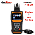 2017 New Airbag ABS Diagnostic Scanner FOXWELL NT630 OBD OBD2 ABS SRS Diagnostic Tool Crash Data Reset Tool for Airbag ABS NT630