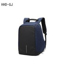 Здесь можно купить   HHD-GJ Brand Backpack USB External Charge Computer Bag Shoulders Anti-theft Backpack 15 inch Waterproof Laptop Backpack for Men Laptop Accessories