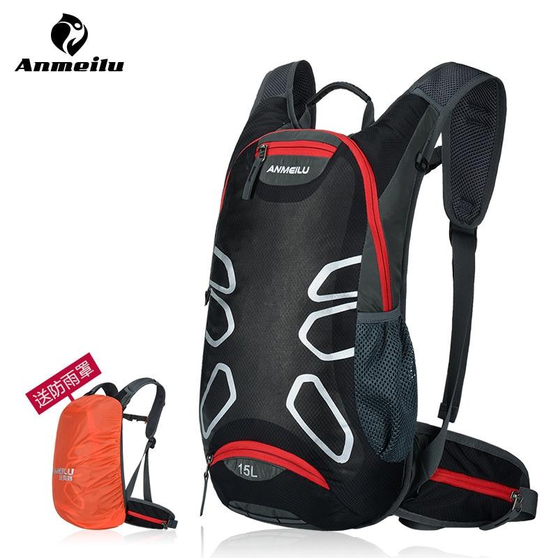 ANMEILU Brand Outdoor Bicycle Hiking Backpacks Waterproof MTB Road Mountain Bike Water Bags Climbing <font><b>Cycling</b></font> Backpack Rain Cover