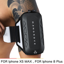 Running Mobile phone arm bag men and women Fitness Outside Sports Cover Workout Armband Wallet Cases Universal phone For XS MAX