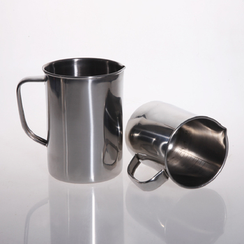 Stainless steel measuring cup with Handle Graduated beaker laboratory equipment or Kitchen tools