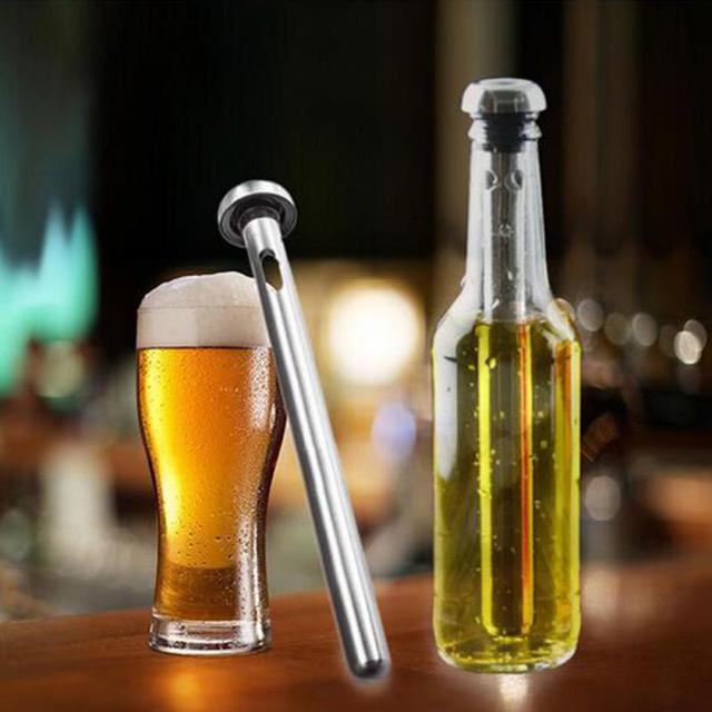 Praktische Home Bar Edelstahl Bier Rotwein Kühl Stock Party Schnell ...