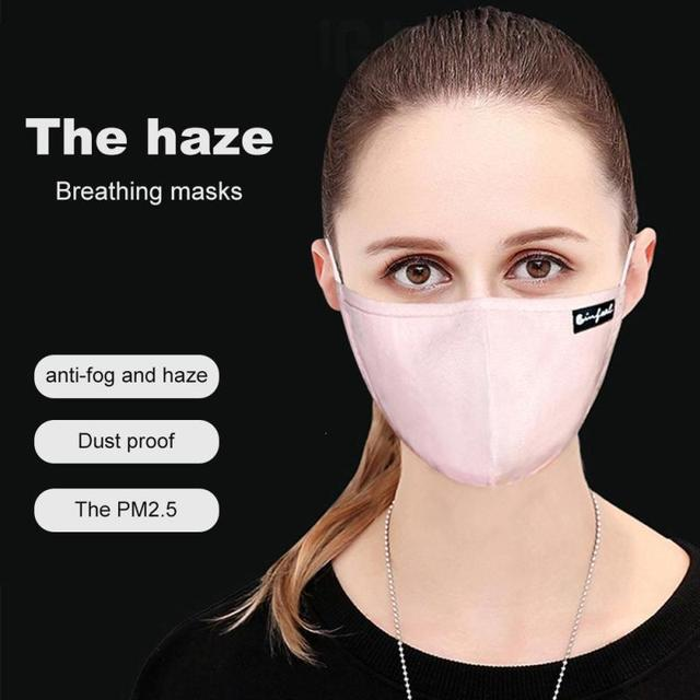 18dd51cf5 Korean Style Mask On The Mouth Anti dust mouth mask Activated Carbon Filter  Mouth-muffle Mask Anti PM2.5 Fabric Face Mask U3