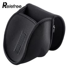 Relefree Portable Spinning Reel Case Protective Neoprene Sports Durable Fishing Bags