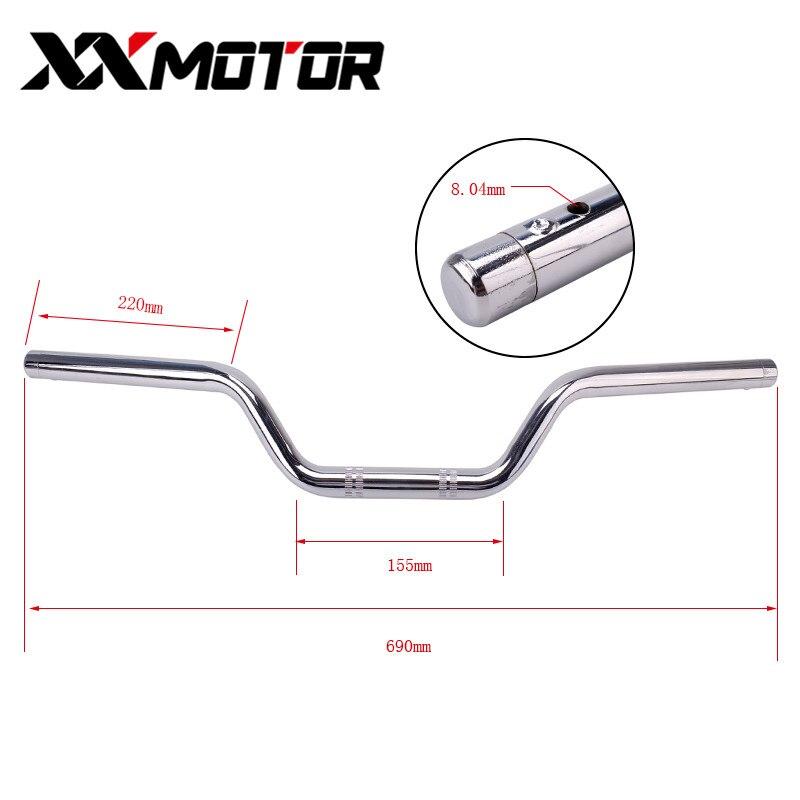 Motorcycle Handlebar Steering Yoke Difection Handle Fot Bar Grip Rod For Suzuki Yamaha Honda XJR400 CB400 CB250 CBR Accessories