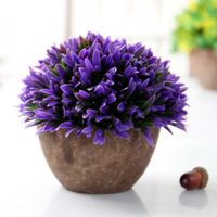 Simulation Flower Miniascape Wedding Home Sitting Room Adornment Flowers Potted Furnishing Articles Ornaments