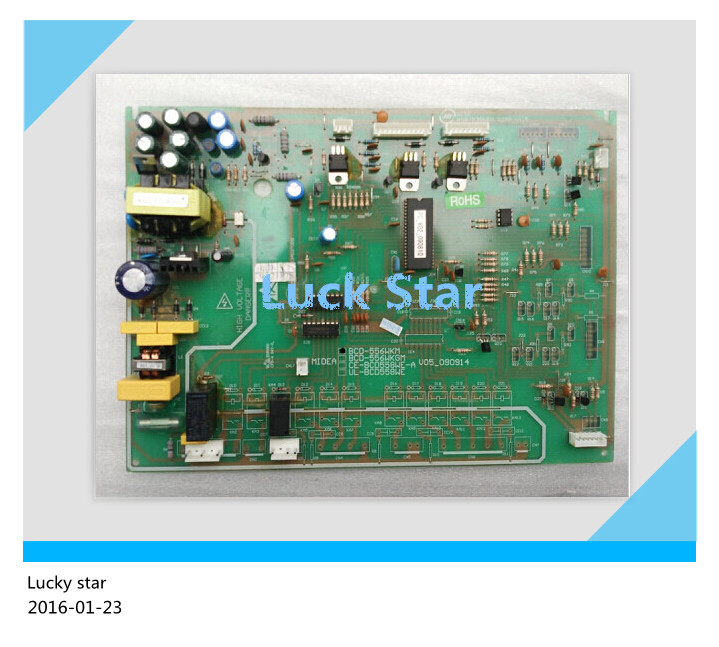 ФОТО 95% new for Midea refrigerator pc board motherboard control board ce-bcd558we-a 556 motherboard circuit board