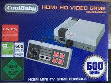 DHL 30 pcs Retro Família HD Video Classic Handheld Do Jogo Jogadores criada em 600 Jogos Controles de Saída HD HDMI Mini TV Jogo Console