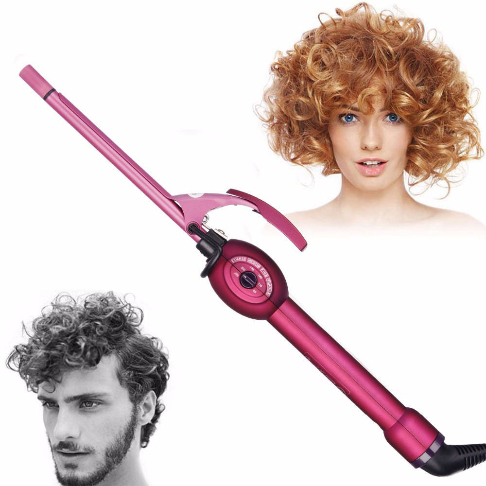 Magic Hair Curler Roller Men Women Curling Iron Wand Wave Curler Ceramic Hair Iron Deepwave Hair Styler Hair Stick Fluffy Curls ushow automatic hair curler pro ceramic hair curling iron magic wave curl roller curling wand hair styler