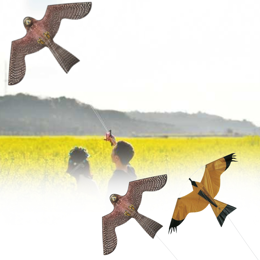 3 Style Hawk Kite Protect Farmers Crops Realistic Flying