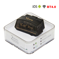 Vgate iCar Pro Bluetooth 4.0/WIFI OBD2 Scanner for IOS Android OBD II Diagnostic Interface