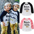 2017 new arrival Spring Autumn girls t shirt Baby Girls Clothes Long Sleeve Tops kids T-shirt Tees 1-4Years