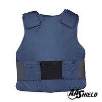 AA баллистический щит костюм тела Armour жилет удобные пуленепробиваемые арамидных Core вставить безопасности M/L темно синий уровень NIJ IIIA и HG2