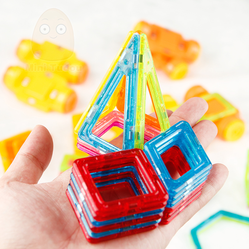 Minitudou Mini Magnetic Constructor Designer Toys For Boys and Girls