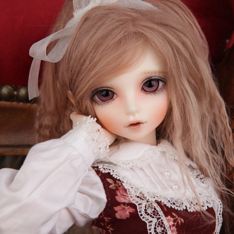 New Arrival 1/4 BJD Doll BJD/SD Fashion Style KIWI Doll Include Eyes For Baby Girl Gift серьги telle quelle серьги