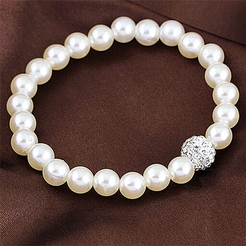 Faux Pearl Bridal Jewellery Sets