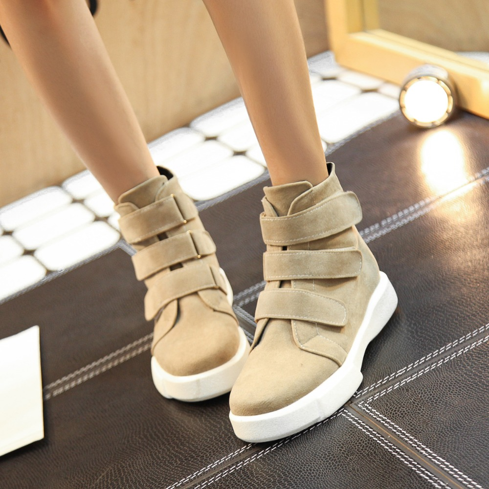 Female Women Snow Boots Slim winter Boots Fashion Ankle Boots flat Botas Women winter warm Shoes