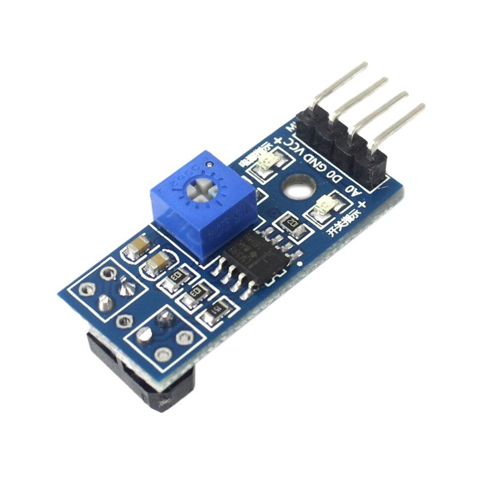 Seguidor de linea Tracker Seguidor de linea tracker TCRT5000 IR 4 pin con regulación
