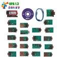 Mejor Calidad UPA USB V1.3 unidad Principal ECU chip Tuning Programador DEL USB Del UPA Upa Programador USB con los Adaptadores Llenos