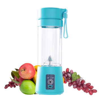 400ml Portable Juice Blender USB Juicer Cup Multi-function Fruit Mixer Six Blade Mixing Machine Smoothies Baby Food Dropship baby assist food machine multi function fruit vegetables mill grinder electric baby food steam cooking mixing machine