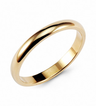 Queenwish Vintage Gold color Classic Tungsten Ring 3mm Classic Wedding Rings Band Comfort Fit Newest Fashion Infinity Jewelry header civic eg