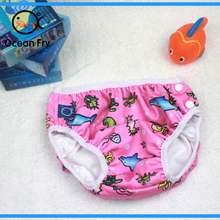 Новинка 2019 детские подгузники купальные штаны для новорожденных