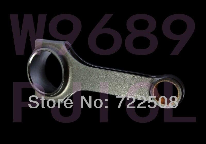 for Vauxhall Corsa B 1.6 GSi Tigra Astra G/MK3 F X16XE C16XE t connecting rods Stahlpleuel mit H Schaft bielle biella biela for re r5 g t 1 4 r11 turbo 840 30 c6j726 c1j forged 4340 billet connecting rods stahlpleuel mit h beam bielle biella biela