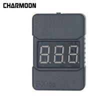 BX100 Lipo Аккумулятор Низкое напряжение Тестер Проверка 1S-8S +Низкий Вольтметр Зуммер Сигнализация с LED Индикатор