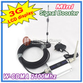 Display LCD!!! Mini W-CDMA 2100 Mhz WCDMA Repetidor De Sinal de Reforço De Sinal 3G Repetidor 3G Amplificador Celular + Cabo + antena
