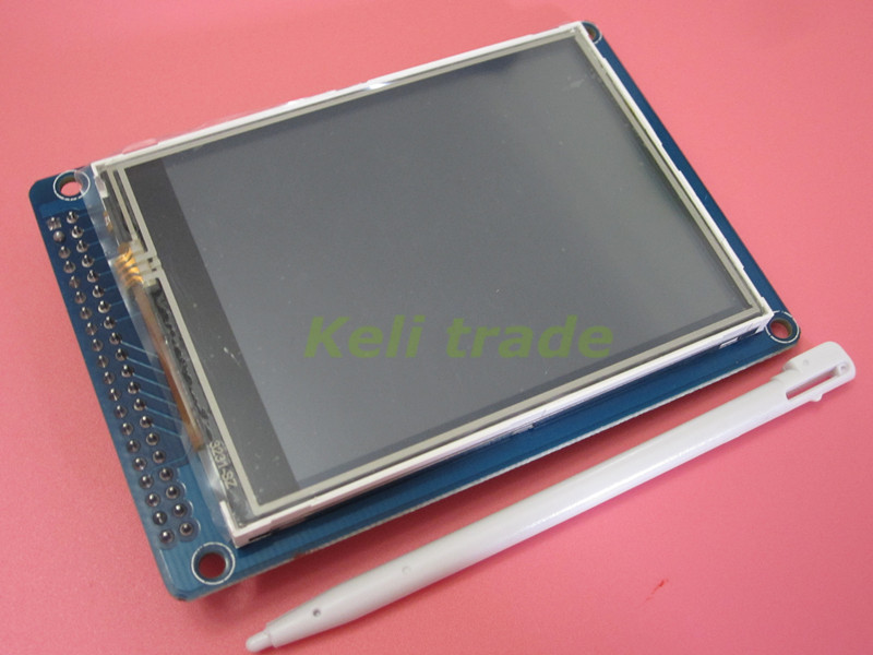 1pcs 3 2inch 320x240 Touch LCD Screen Touch SPI LCD TFT 40pin ILI9341 Touth panel 3