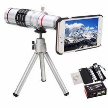 Big sale ZEALLION 18x Zoom Optical Telescope Telephoto Camera Lens For Xiaomi Mi 3 4 Phone Case + Clips Tripod