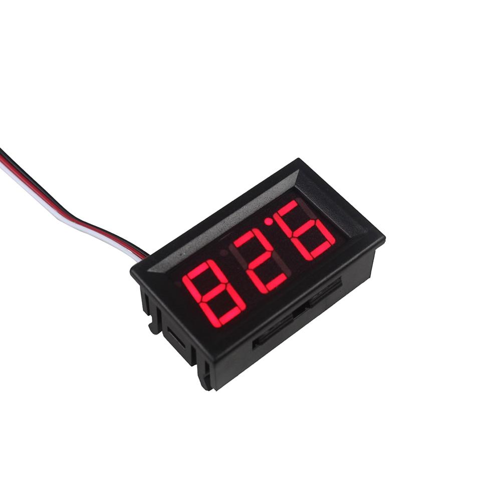 Digital Voltage Meter For Car : Smart electronics red led digital voltmeter gauge volt