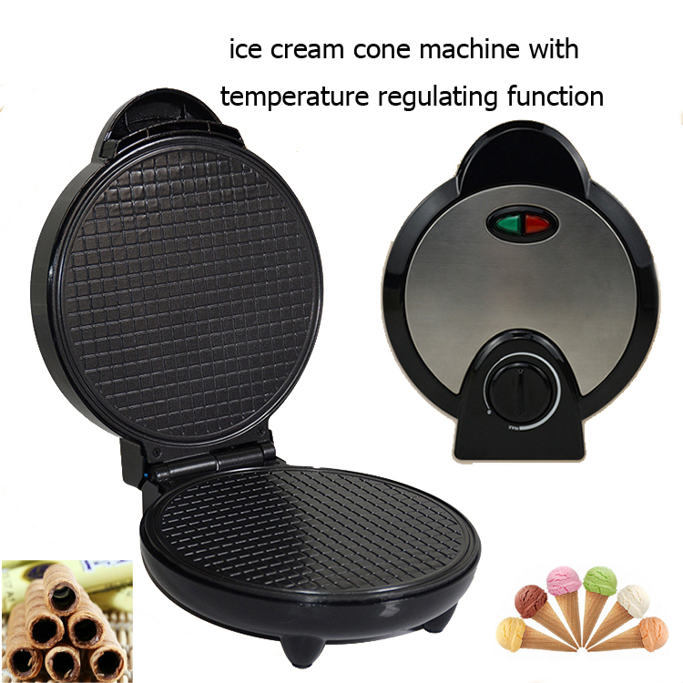 220V Full automatic Multifunctional Household Electric Waffle Maker Egg Roll Maker Muffin Machine Doughnut Maker Ice Cone Maker|Waffle Makers| |  - title=