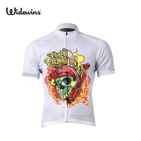 Hot Funny Devil Killer Man Men Cycling Jersey Short Sleeve Bike ROAD Wear Ropa Maillot Ciclismo