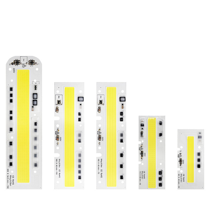 LED COB Chip Strip 100W Smart IC Driver Integrated 110V//220V High Power Lights