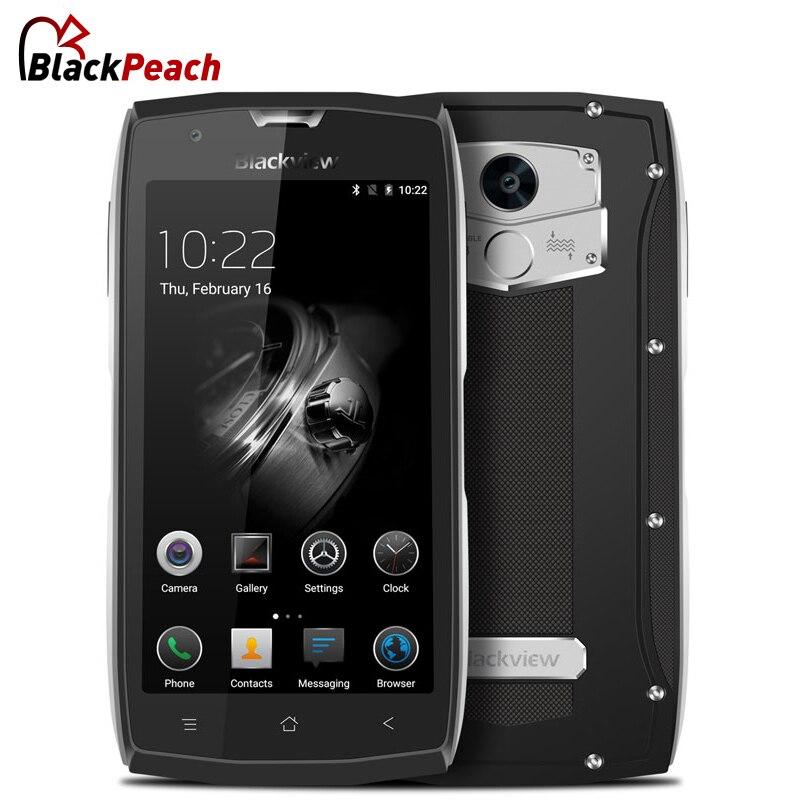 Blackview <font><b>BV7000</b></font> Pro <font><b>IP68</b></font> Водонепроницаемый смартфон MT6750T Octa Core 5,0 &#8220;мобильный телефон 4 ГБ Оперативная память 64 ГБ Встроенная память 13MP android 6,0 мобильный &#8230;