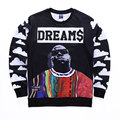 Newest Men/Women Crewneck 3D Sweatshirt Harajuku Style Graphic Hoodies Character Biggie Smalls/2PAC/Tupac Hip hop Clothing Tops
