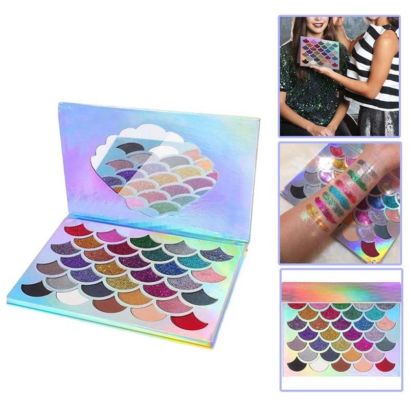 32 Couleurs Maquillage Fard À Paupières Palette De Mode Visage Yeux Lèvres Make Up Kit Avec Le Cas Cosmétiques