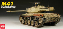 1:35 Model Building Kits Tank M41 WALKER BULLDOG 35055 Tank Assembly DIY