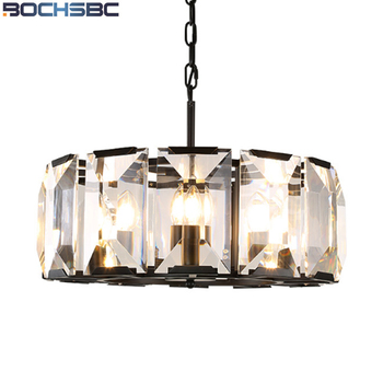 BOCHSBC Putaran Kaca Pendant Lampu Retro Kreatif Liontin Cahaya untuk Kamar Tidur Ruang Tamu ruang Makan Ruang Tamu Hotel Hall Lampara