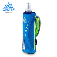 AONIJIE Quick Shot Handheld Hydration Running Pack Marathon Running Hand Hold Kettle Bag With 500ml Collapsible TPU Soft Bottle бутылка проект 111 marathon 500ml red 2886 50