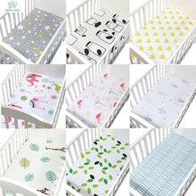 1 шт., 130*70 см, лучший подарок, для новорожденных, детская кроватка, простыня, мягкий дышащий матрас для детской кровати, покрывало, мультяшная кровать для новорожденных